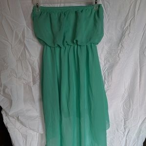Poetry High Low Strapless Dress